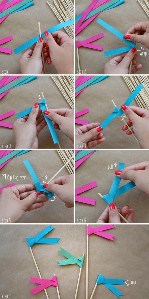 Как сделать маленький флажок