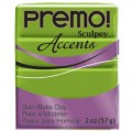 Premo! Sculpey Accents Bright Green Pearl, перламутрово-зеленый