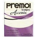 Premo! Sculpey Accents  White Translucent, белый полупрозрачный